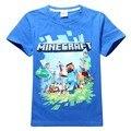 4-13 T Shirt DE Crianças Encabeça Crianças Roupas De Marca T-Shirt crianças Adolescentes Meninos Grandes T-shirt Das Meninas Verão camiseta Enfant Fille
