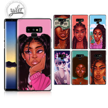 Black girls For Case Samsung Galaxy Note 9 8 Phone Case for Samsung Galaxy A50 A530 A750 A7 A8 2018 Phone Cover Case for Note 8 цена и фото