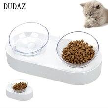 Дуда всплеск предотвращения ПЭТ чаши стол устройство для кормления собак кошка миска для собак товары для домашних животных