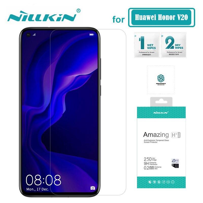 Huawei Honra Ver 20 Vidro Nillkin Surpreendente H + Pro 0.2 MILÍMETROS Protetor de Tela de Vidro Temperado para Huawei Honor V20 vista 20 6.4''