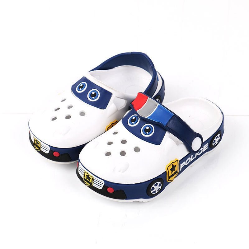 Baby Boys Girls Slippers Kids Cartoon Beach Sandals Summer Hollow Childrens shoes