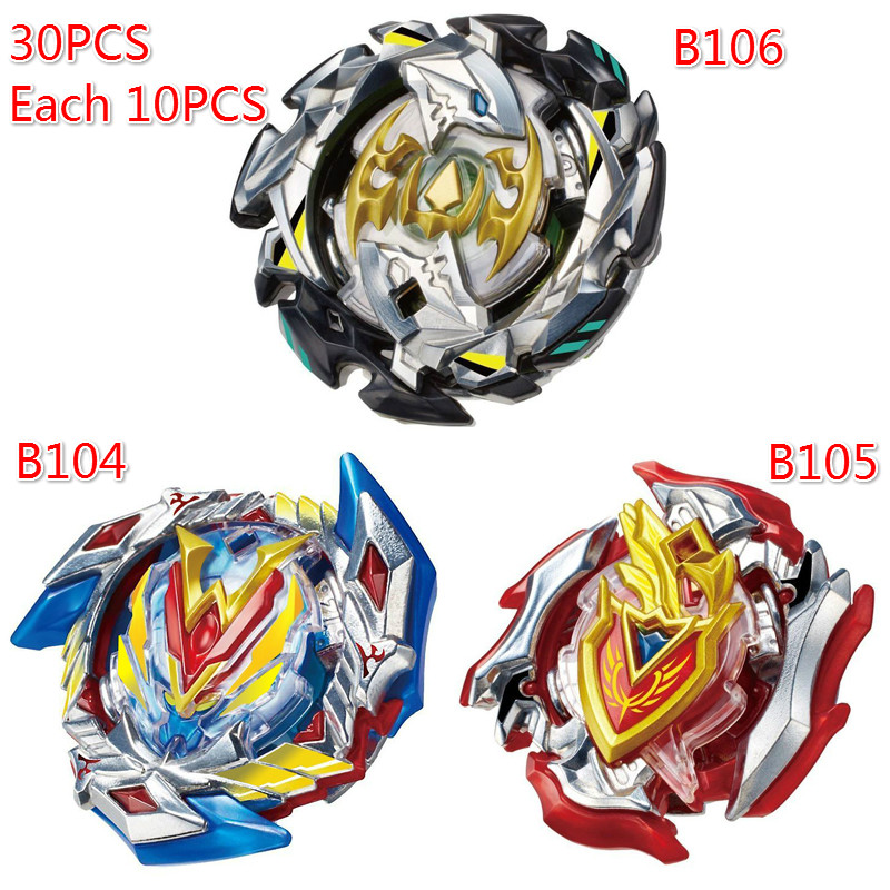 30Pcs/EMS/DHL/FEDX/UPS Free Shipping Metal Beyblade Bayblade Burst Toys Arena Sale With Launcher And Spinning Top Bey Blade Gyro