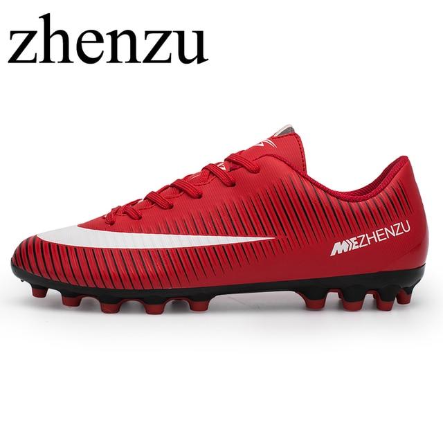 3cc1949fcd0 zhenzu Football Boots Cleats soccer Shoes mens football cleats boot  Chuteiras botas de futbol voetbalschoenen women Adult   Kids