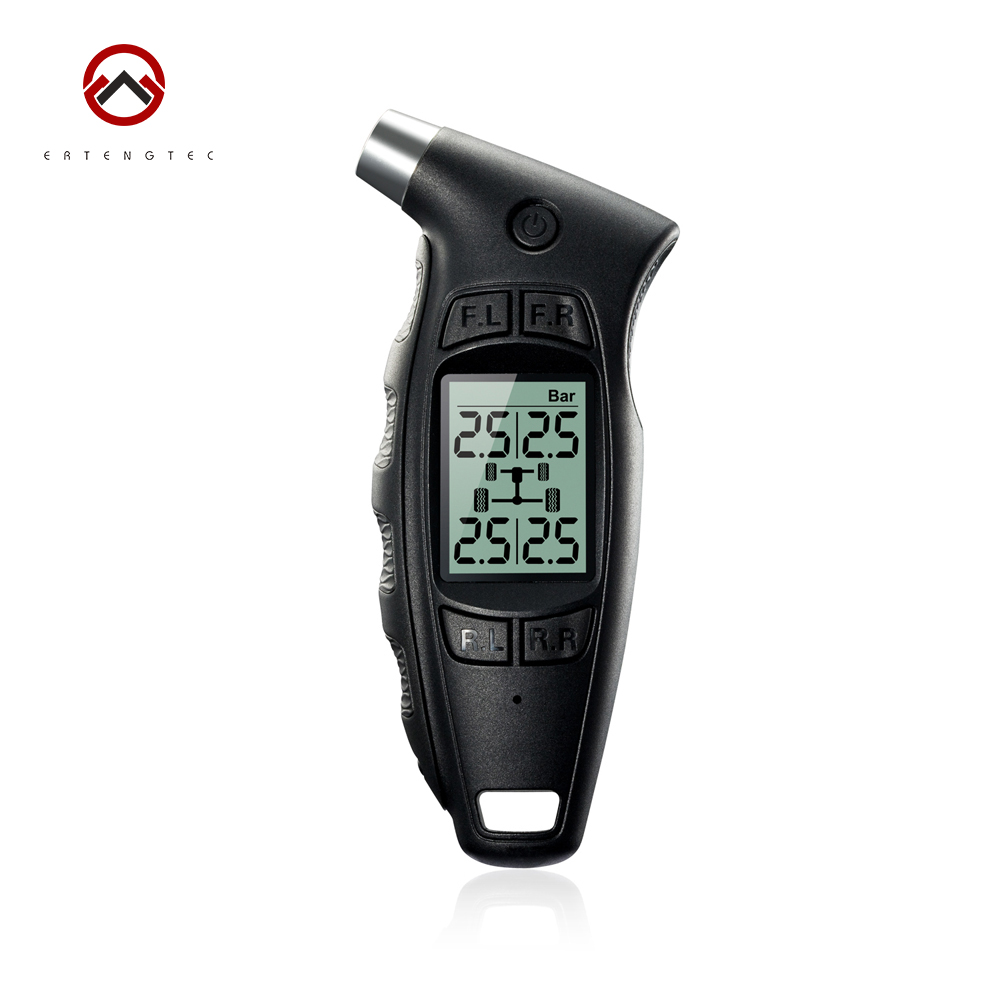 Original Steelmate DIY TPMS TC-01 Handheld Digital Tire Pressure Gauge LCD Digital Display Ergonomic Handle Low Battery Alert