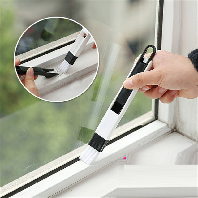 2 Pieces Lot Computer Window Cleaning Brush Groove Keyboard Nook Cranny Dust Shovel