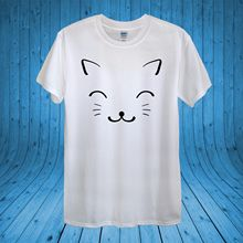 Cute Cat Kawaii Kitty Kitten Love Cats 100% Cotton unisex women Harajuku Tops t shirt Fashion Classic Unique free shipping