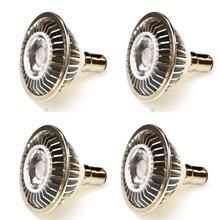7W AR70 B15 BA15D COB LED Spotlight Bulb12V 3000 4000 6000K Replace 60W Halogen Lamp for Home Commercial Lighting 4pcs lot cheap AIBOO Industrial ROHS 2 years Aluminum LED Bulbs EB-AR70-7W Brushed Nickel High Efficacy Long Life Span 500LM B15 BA15D