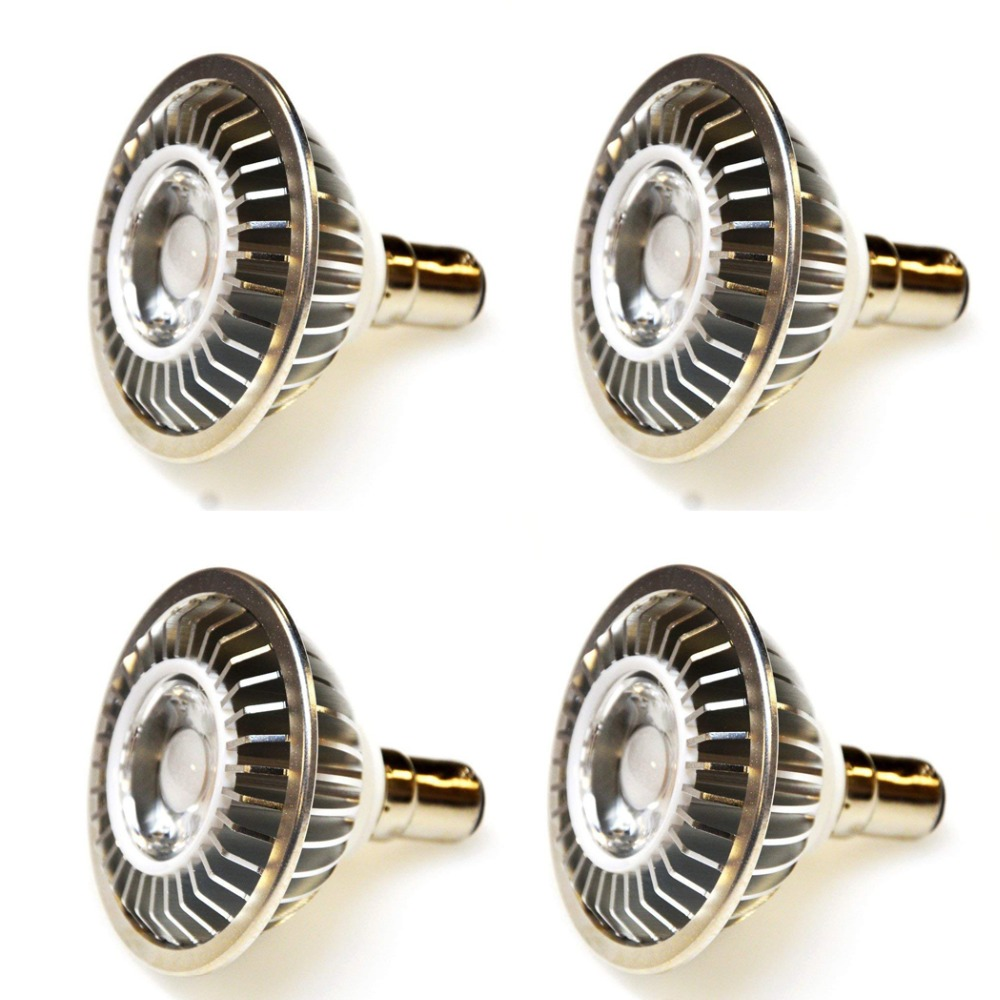 7W AR70 B15 BA15D COB LED Spotlight Bulb12V 3000/4000 / 6000K Bytt 60W Halogen Lampe til Home Commercial Lighting 4pcs / lot