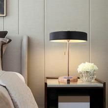 Modern Metal LED Table Lamp Led Desk Lights for Living Room Bedroom Bedside Study Reading Home Lighting Fixtures Luminaire Decor цена и фото