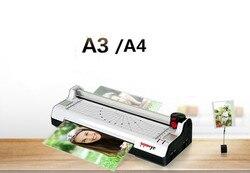 A3 A4 wielofunkcyjny 6 w 1 zdjęcie termiczna i zimno etui Laminator + przycinarka do papieru papieru kuter rogu okazałości