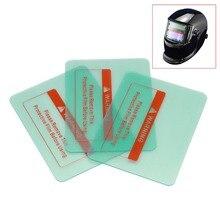 5 stücke PC Innen schutzhülle kunststoff objektiv für auto verdunkelung schweiß maske/schweiß filter/schweiß helm/schweißer filter 117*90m