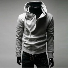 Assassins creed hoodies men hooded sweatshirt brand hip hop Thin black zipper hoodies streetwear survetement homme 2017 Fashion(China)
