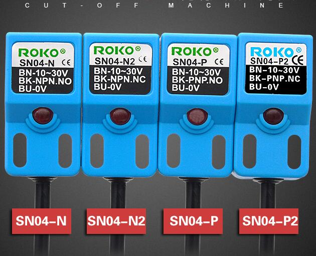 10PCS  SN04-N SN04-N2 SN04-P SN04-P2  ROKO Proximity Switch Sensor New High Quality