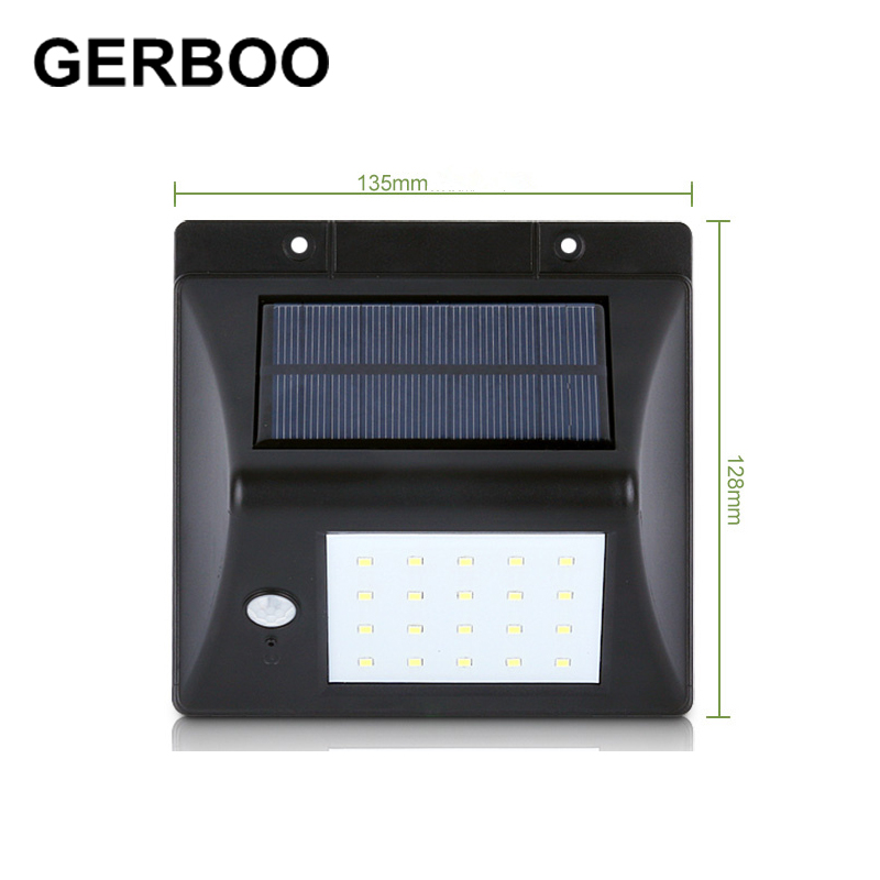 20 LED Solar Powered Motion Sensor Light Outdoor Solar Led Flood Lights  Spotlights Garden Patio Pathway Lamps Emergency Lighting In Solar Lamps  From Lights ...