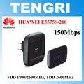 Abierto original de huawei e5575 e5575s-210 150 100mbps 4g lte router wifi hotspot móvil tdd fdd 1800/2600 mhz 2600 mhz