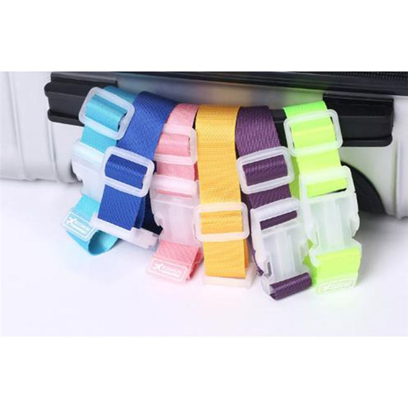 1PC Newest Adjustable Suitcase Bag Luggage Straps Hanging Buckle Baggage Tie Down Belt Lock Hooks Travel Accessories
