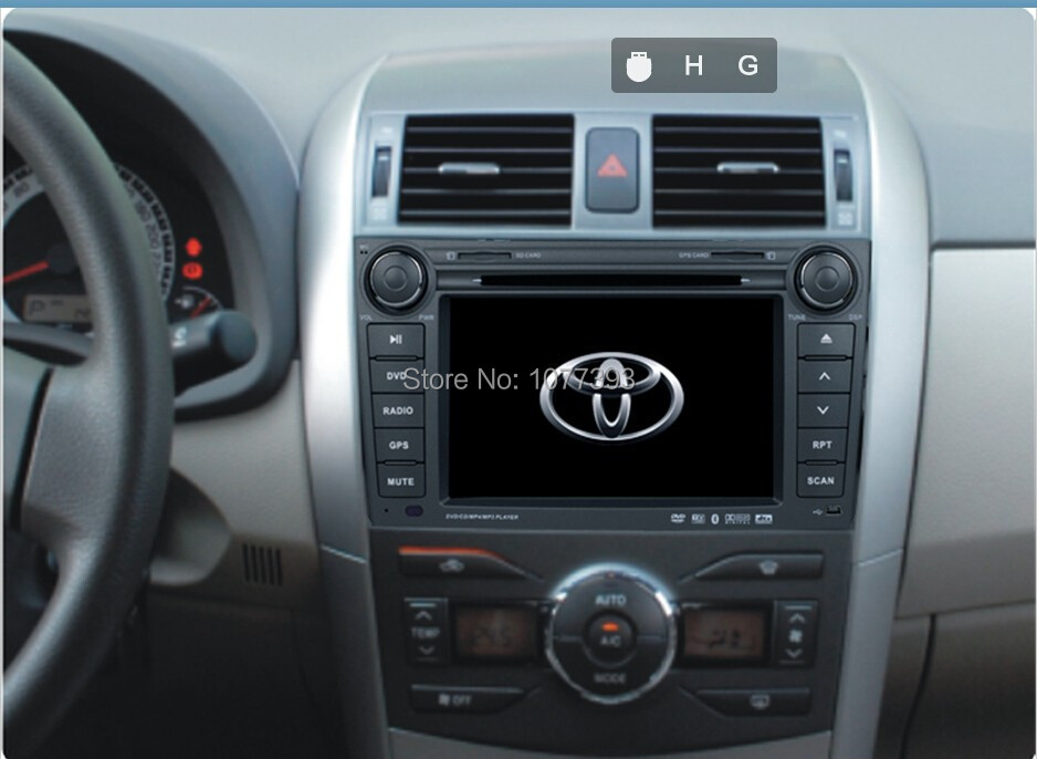 7 Inch Car radio PC for Toyota Corolla 2007 2008 2009 2010 2011 FM AM aliexpress com buy 7 inch car radio pc for toyota corolla 2007 1999 Toyota Corolla Diagram at fashall.co