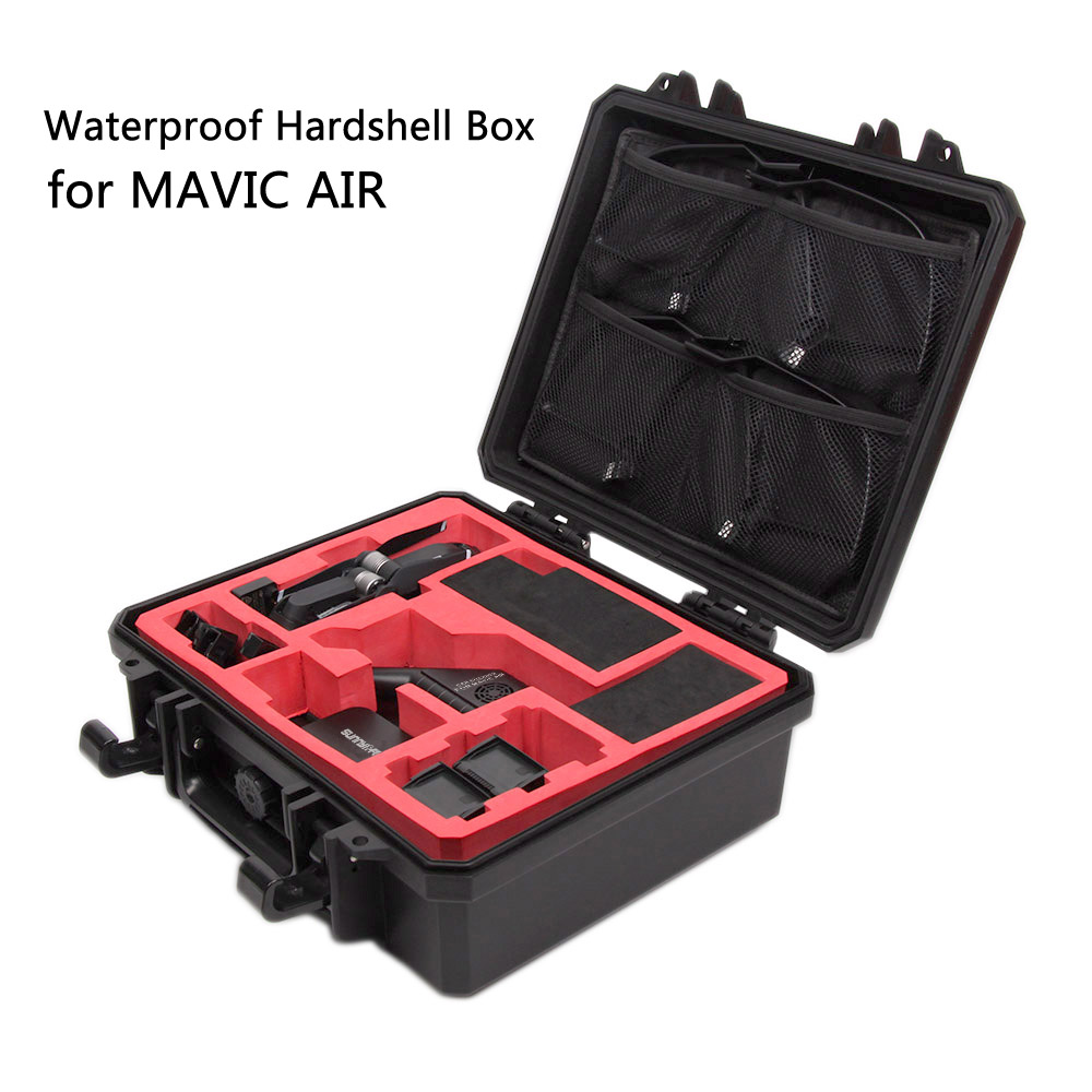 Waterproof Hardshell Box Handheld Storage Bag Safety Carrying Case for DJI MAVIC AIR Drone