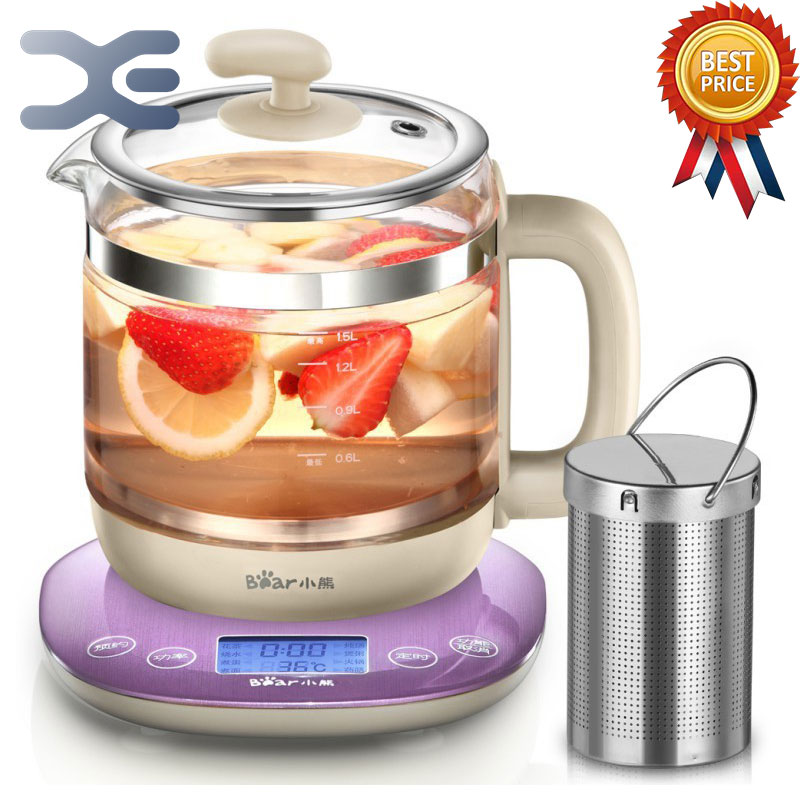 Appointment Timing Kettle High Quality 1.5L Glass Electric Cooking Pot Multifunction Kettle Electric