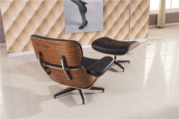 Luxe Lounge Stoel.Free Shipping Lounge Chair Luxury Full Top Grain Leather Recliner