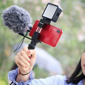 Image 4 - ULANZI PT 7 Lạnh Treo Chân Đế Vlogging Micro Nối Dài Đĩa 1/4 Chân Máy Vít Cho iPhone GoPro Sony RX0 II