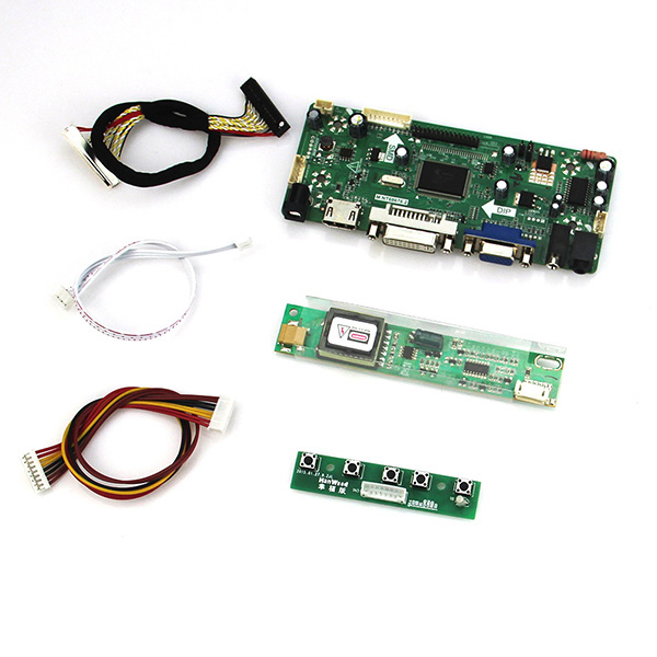 M.NT68676 LCD/LED Controller Driver Board(HDMI+VGA+DVI+Audio) For QD15TL04 QD15TL02
