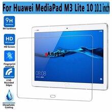 M3 Vidrio Templado Protector de pantalla Para Huawei Mediapad 10 Lite 10.1 pulgadas Delgada Tablet PC Protector de Pantalla Para Huawei M3 Lite 10