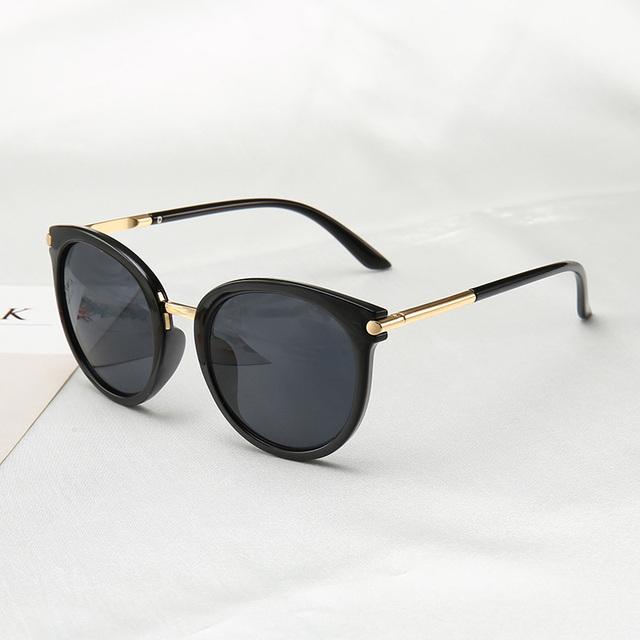 2019 New Sunglasses Women   Driving Mirrors vintage For Women Reflective flat lens Sun Glasses Female oculos UV400