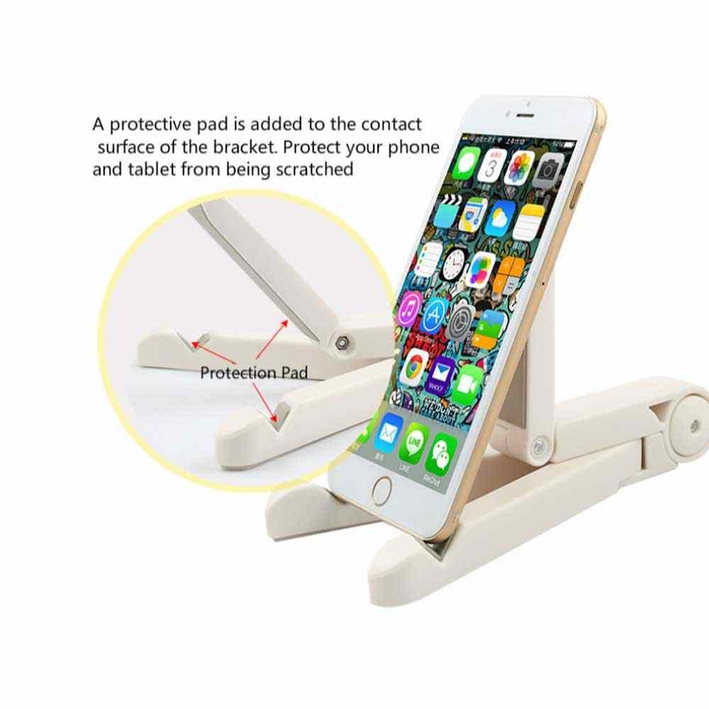 אוניברסלי מתקפל טלפון Tablet Stand מחזיק שולחן העבודה הר סטנד חצובה שולחן שולחן תמיכה עבור IPhone IPad Mini 1 2 3 4 אוויר פרו
