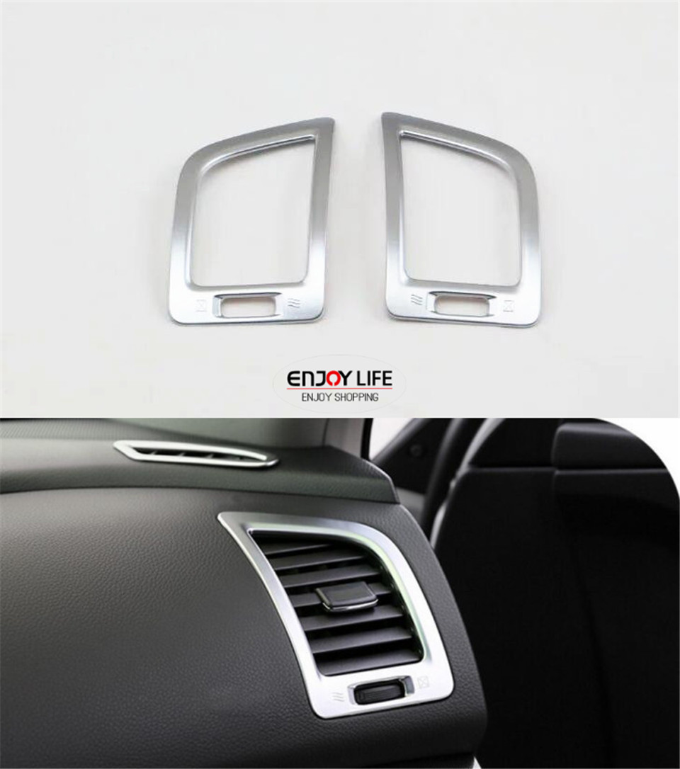 Inner front air vent outlet cover trim for nissan altima teana facelift 2016