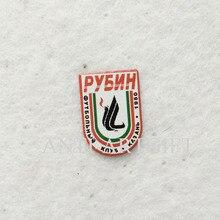 2 шт футбольные Значки печать логотипа 18 мм