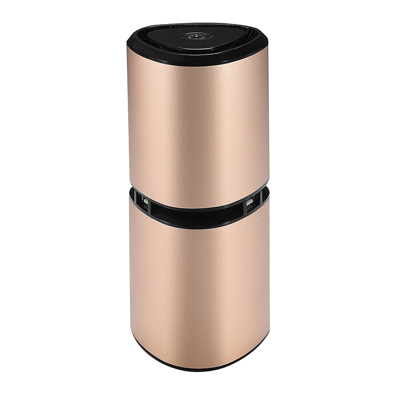 Air Purifier USB Mini Portable Car Air Purifiers Negative Ion Air Freshener Ultra quiet Perfect for Car Home Remove Odor Duct