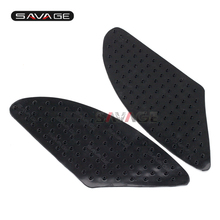 For YAMAHA FJR 1300 FJR1300 2001-2015 Motorcycle Tank Traction Pad Side Gas Knee Grip Protector Anti slip sticker 3M Black