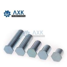 20Pcs m3x5 m3x10 Zinc Plated Carbon Steel Hex Rivet Bolt Hexagon RIV Screw Clinch