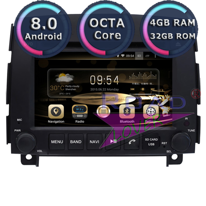 Roadlover Android 8.0 Voiture Lecteur DVD Radio Pour Hyundai Sonata NF YU Xiang 2006-Stéréo GPS Navigation Automagnitol Deux din Vidéo