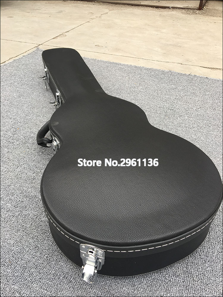 High quality LP guitar hard case,Classic black,There are drum belly,Support custom sizes,Real photos,free shipping High quality LP guitar hard case,Classic black,There are drum belly,Support custom sizes,Real photos,free shipping
