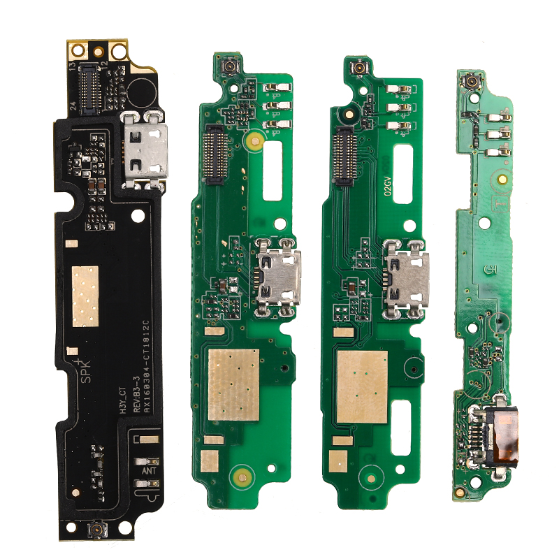 1PC USB Charging Port Board Flex Cable Connector Parts For Xiaomi Redmi Note 3/4/Note 3/4 Pro/4A/5A/4X/2 2A/3S Microphone Module