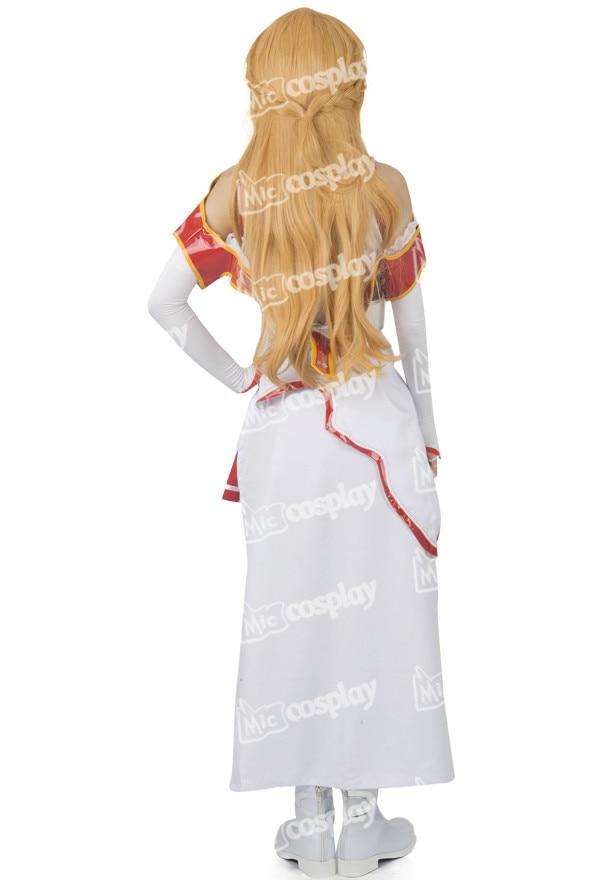 Anime Sword Art Online Asuna Yuuki Cosplay զգեստները - Կարնավալային հագուստները - Լուսանկար 6