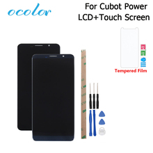 ocolor For Cubot Power LCD Display and Touch Screen Digitizer Assembly Replacement With Tools +Adhesive For Cubot Power Phone