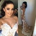 Очаровательная Высокий Низкий Шампанское Платья Невесты Sexy Милая Аппликация Тюль Бальные Платья Новая Мода