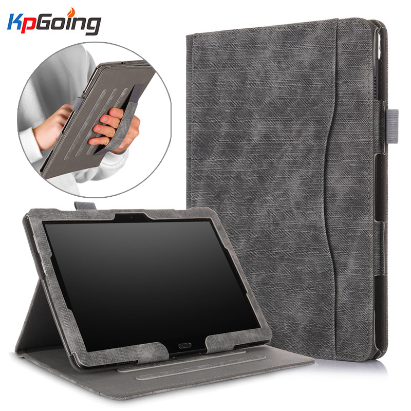 For <font><b>Lenovo</b></font> Tab P10 Case TB-<font><b>X705F</b></font> Flip PU Leather Vintage Fundas for <font><b>Lenovo</b></font> Tab M10 Tablet for M10 TB-X605F TB-X605L Cover Shell image