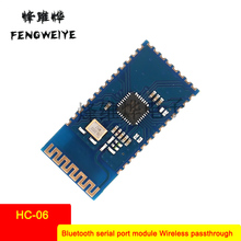 Panel Bluetooth serial port module Wireless transparent transmission data module 51 single chip SPP-CA instead of HC-06