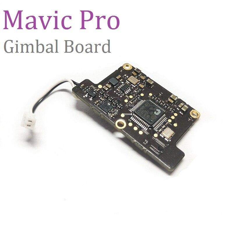 100% original dji mavic pro cardan câmera foward sensor de controle placa principal peças reparo