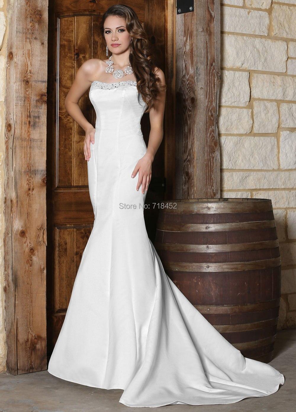 Aliexpress.com : Buy New Fashion Classic Wedding Dress Mermaid ...