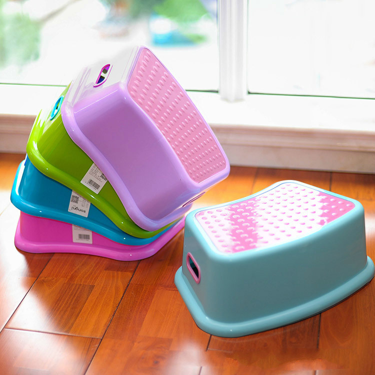 New Toilet Ottoman Stool Home Stool Creative Bathroom Stool Kindergarten Children Plastic Stool Wholesale