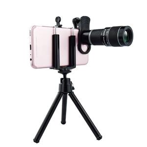 Image 1 - Universal 18X Teleobjektiv für Handys HD Teleskop Kopf mit Tripot & Clip für Handys