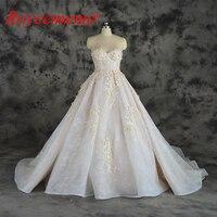 2018 Новый Лидер продаж сексуальный дизайн Топ свадебное платье Роскошные 3D кружева свадебное платье оптовая цена свадебное платье фабрика н