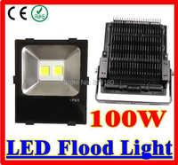 100 w led 홍수 빛 AC90-277V 투광 조명 따뜻한/차가운 흰색/4000-4300 k led 스포트 라이트 야외 램프 조명