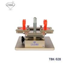 Tbk-928 lcd desmonte da máquina manual de um frame-separador para samsung ajustar precisamente por micrômetro