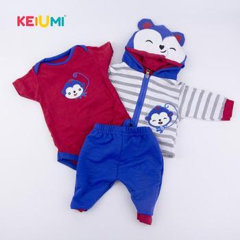 Комплект одежды для кукол KEIUMI KUM17Clothes15 1